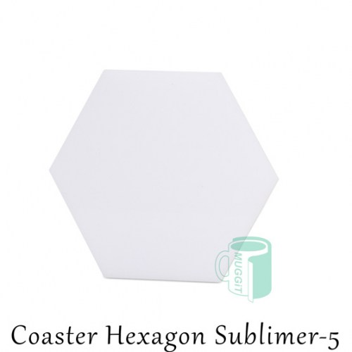 Coaster Hexagon Sublimer-5