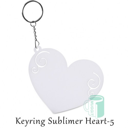 Keyring Sublimer Heart-5