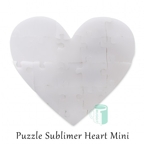 Puzzle Sublimer Heart Mini